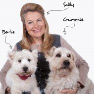 Sally, Bertie and Crummie with Labels
