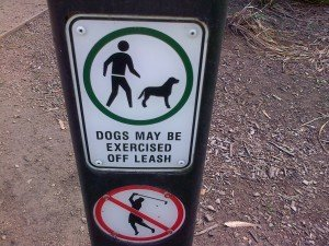 Signs in Australia