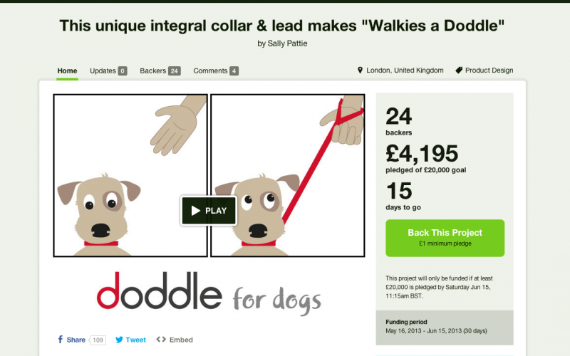 FUNDING IS GOING WOOFINGLY!